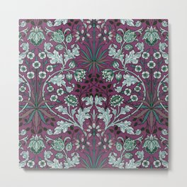 """William Morris """"Hyacinth"""" 2. Metal Print"""