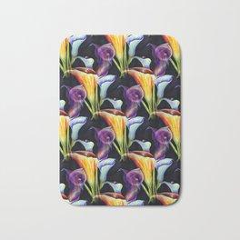 Watercolor Calla Lilies Bath Mat