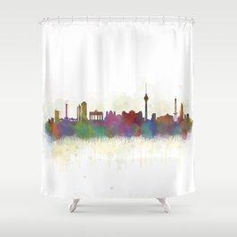 Berlin City Skyline HQ5 Shower Curtain