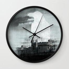 TOWER RAVEN Wall Clock