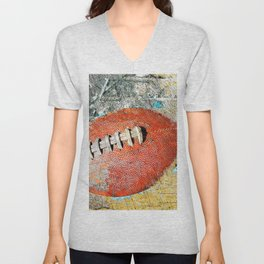 Football art print work vs 1 Unisex V-Neck