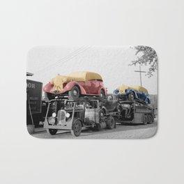 Vintage Car Carrier Bath Mat