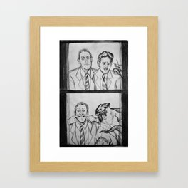 HPL and Frank Framed Art Print