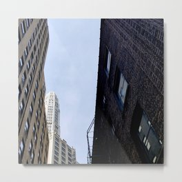 Architecture Peek-Through Metal Print