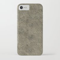 concrete iPhone & iPod Cases featuring Concrete by Texture