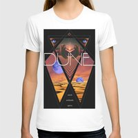 dune T-shirts featuring Dune Poster by S E R P E N T F I R E