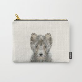 little grey wolf Carry-All Pouch