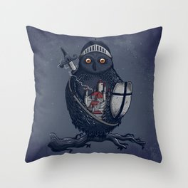 Night Watchman Throw Pillow
