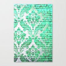 Urban Emerald Canvas Print