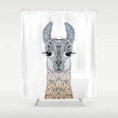 BABY LAMA (CRIA) Shower Curtain