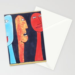 - threesome #2 - Stationery Cards
