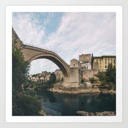 Mostar, Bosnia and Herzegovina Art Print