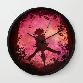 Chasing the Wind Wall Clock