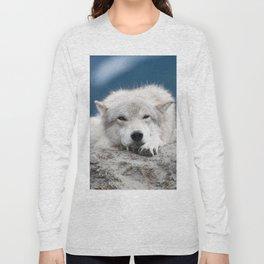 Sleepy Wolf Long Sleeve T-shirt