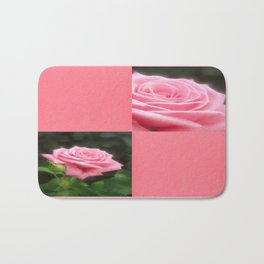 Pink Roses in Anzures 3 Blank Q11F0 Bath Mat