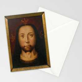 Aelbrecht Bouts (circle of) - Holy Countenance (1500) Stationery Cards