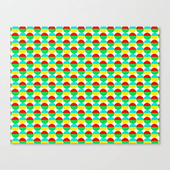 Van Abbe Pattern Canvas Print
