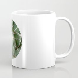 Cactus Succulent Plant art Modern art Scandinavian circle Coffee Mug
