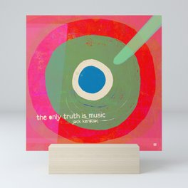 Music - the only truth Mini Art Print