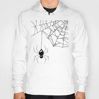 spider Hoodies featuring Spider by Chrystal Elizabeth