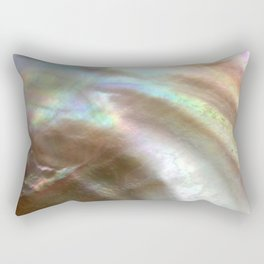 Mother of Pearl Rectangular Pillow
