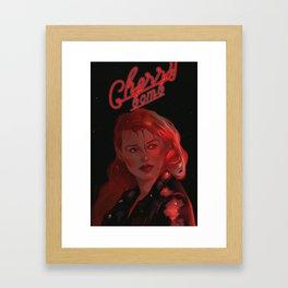 Cheryl Blossom Framed Art Print