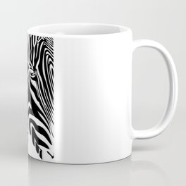 Painted Zebra  Coffee Mug