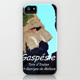 Rocher Tete d'Indien - Indian Head Rock iPhone Case