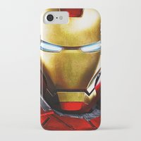 iron man iPhone & iPod Cases featuring IRON MAN IRON MAN by Smart Friend