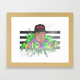 Acid Rap Framed Art Print