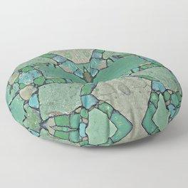 Abstract Stone Design 648 Floor Pillow
