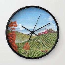 Vista at Belmont Wall Clock