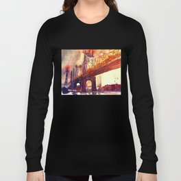 Queensboro Bridge Long Sleeve T-shirt