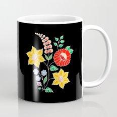 Hungarian placement print - black Mug