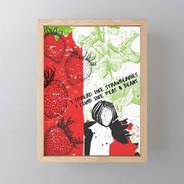 Heavy Balloon Lyrics by Fiona Apple from Fetch the Bolt Cutters Framed Mini Art Print