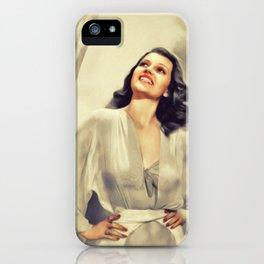 Rita Hayworth, Movie Legend iPhone Case