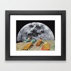 CAMPGROUND Framed Art Print