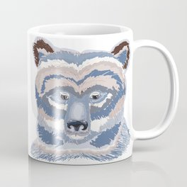 Grizzly in light blue Coffee Mug