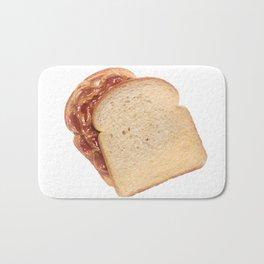 Peanut Butter and Jelly Sandwich Bath Mat