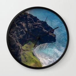 Kauai Seaside Cliff Wall Clock