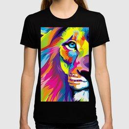 LION-FACE-ART T-shirt