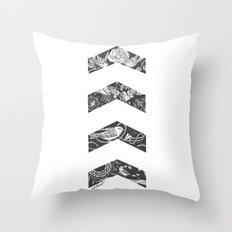Liam's Chevrons Throw Pillow