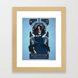Infinite Nouveau Framed Art Print
