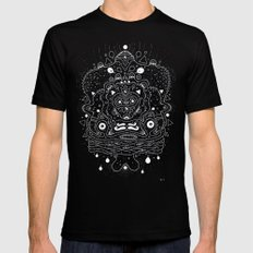 Meat Popsicle Black Mens Fitted Tee MEDIUM