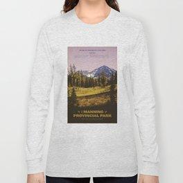 E. C. Manning Provincial Park Long Sleeve T-shirt