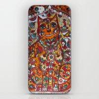 russian iPhone & iPod Skins featuring Russian cat  by oxana zaika