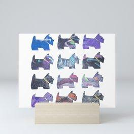 CELESTIAL SCOTTIES Mini Art Print