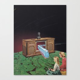 Warp drive Canvas Print