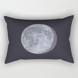 Moon Portrait 2 Rectangular Pillow