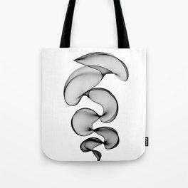 Black Silk Tote Bag